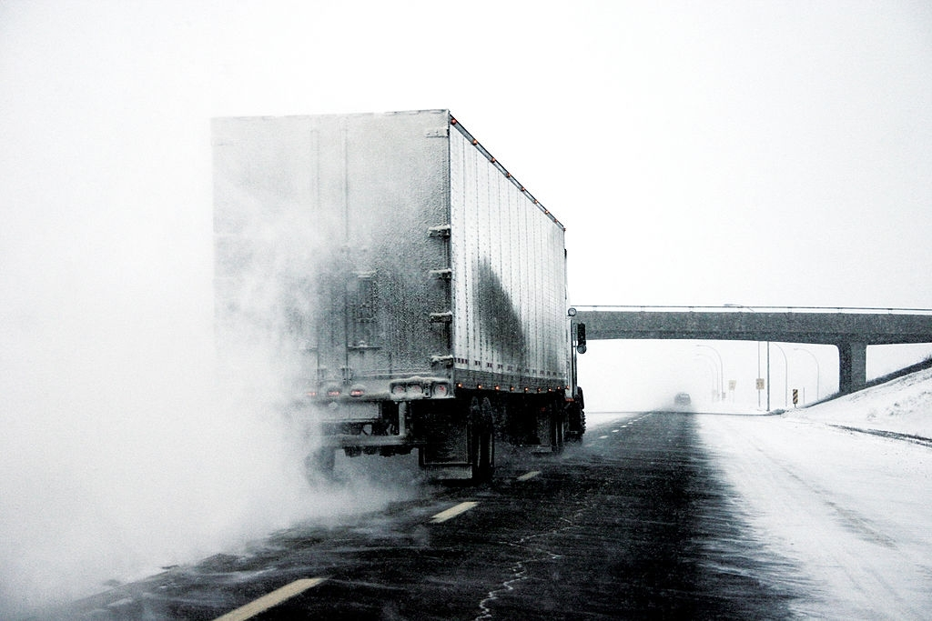 Snow Hauling Lancaster
